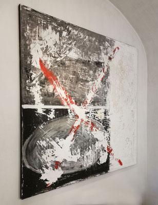 Acrylic on canvas, 200x200 cm