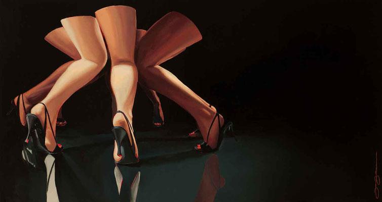 Mirror legs, 60x125. B