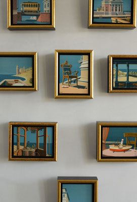 Joop Polder Miniature paintings