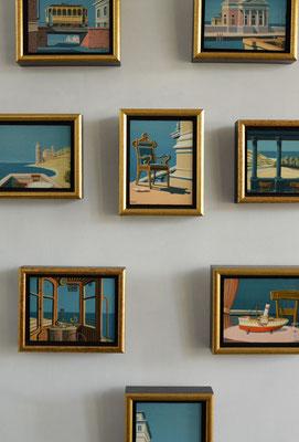 Joop Polder Miniature paintings