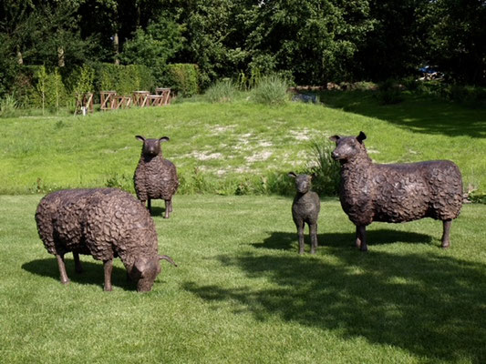 Bronze sheep real size EUR 15,000 per piece