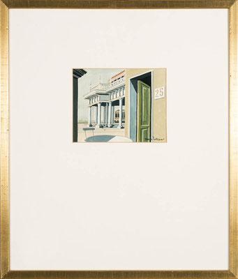 Joop Polder, Gouache, 50x65 cm, EUR 2500