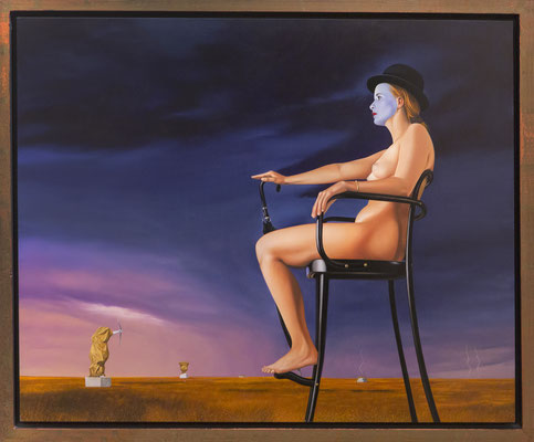 Femme Denudée, 2 60x75 cm oil on panel