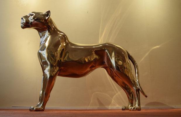 Jaguar, 80 cm, Bronze, Edition: 8. Price on request