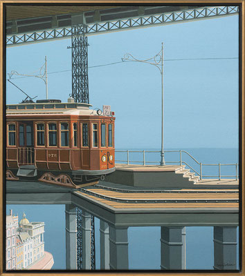 Joop Polder The High Station 70x80 cm SOLD