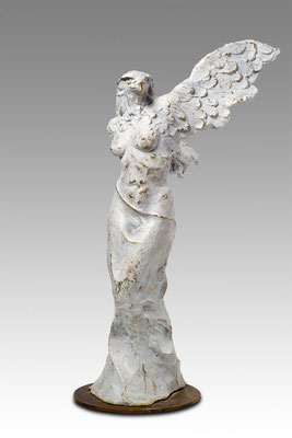 Godfried Dols, bronze, Metamorphose, 50x22x27 cm. EUR 3,900