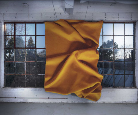 Celia Hadeler Rugs Ocher Yellow 230 x 165 cm