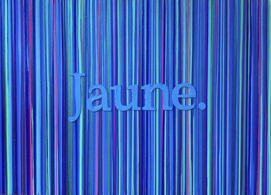 Kevin Langedijk | Jaune | Mixed Media on canvas |  140x100 cm | SOLD
