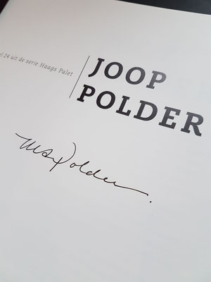 Book Joop Polder EUR 15,00 IBAN: NL05INGB0007374258. Please mention your name, address and email