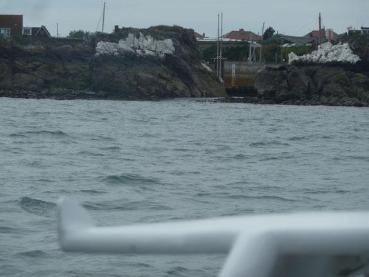 Abfahrt Beaucette Marina
