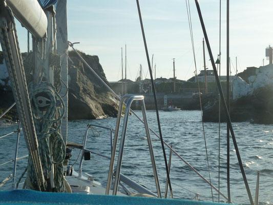 Anfahrt Beaucette Marina
