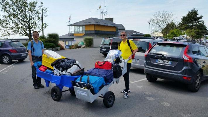 Gepäck Transport