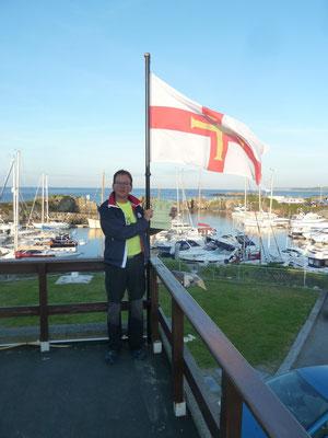 Skipper Andreas erobert Guernsey