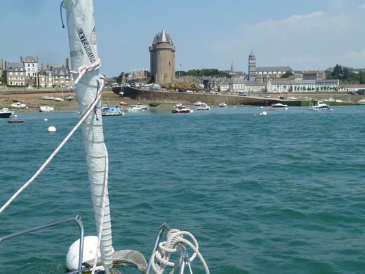 Saint Malo alter Hafen