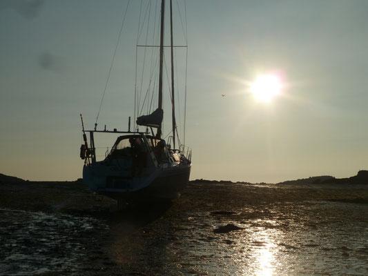 Sonnenuntergang Iles Chausey