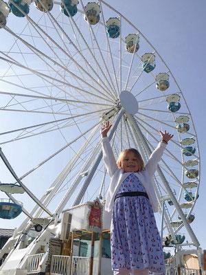 Das Riesenrad in Prien am Chiemsee