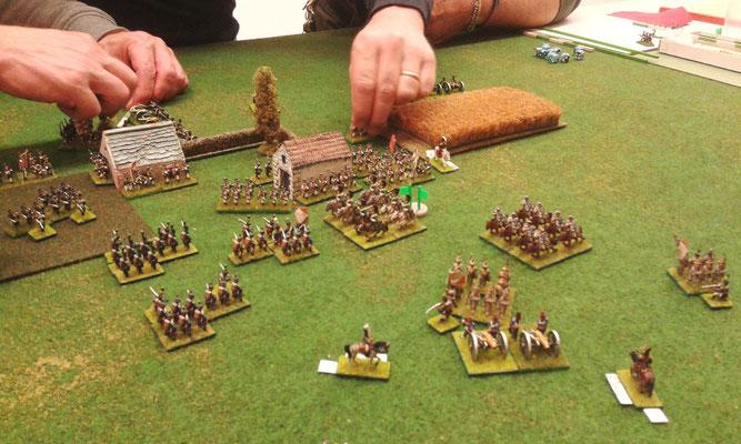 La fanteria russa ha occupato entrambi gli edifici della fattoria...