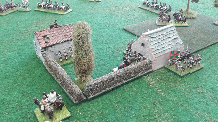 Gli obiettivi sono stati conquistati entrambi dalla fanteria russa (4 punti vittoria)...