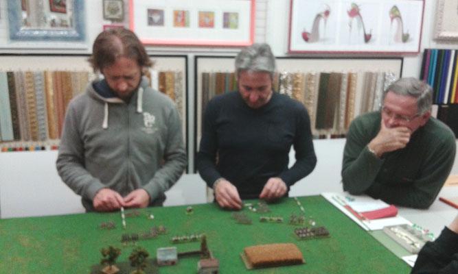 I Comandanti di Brigata russi stanno manovrando sotto il controllo del loro CinC...