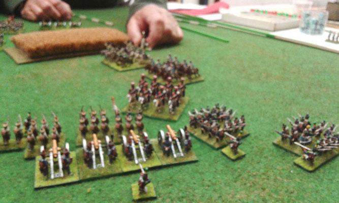La cavalleria russa carica!