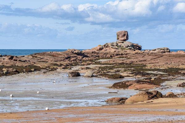 Bretagne, Cote Granite Rose, Frankreich