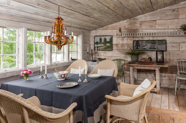 Gartenhaus in Schweden