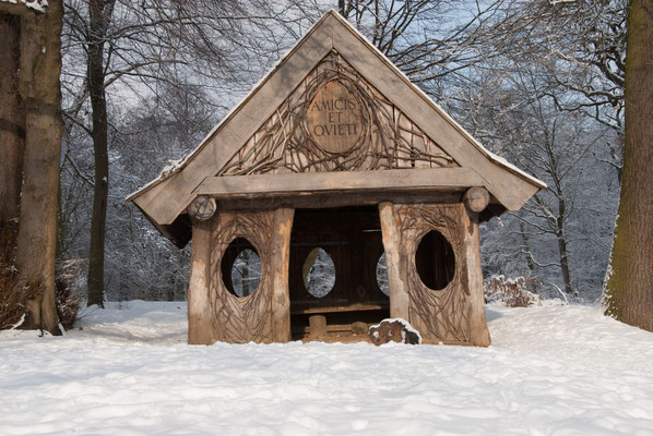 Das Eierhaus im Jenischpark