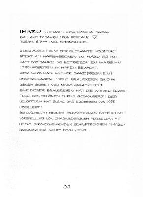 """Beschreibung """"IMAZU"""""""