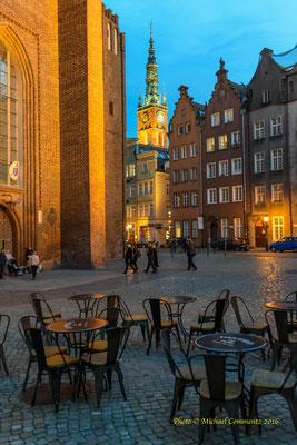 Vor der Marienkirche in Gdansk / Danzig
