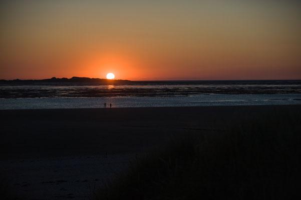 Sonnenuntergang Nordseeinsel Föhr