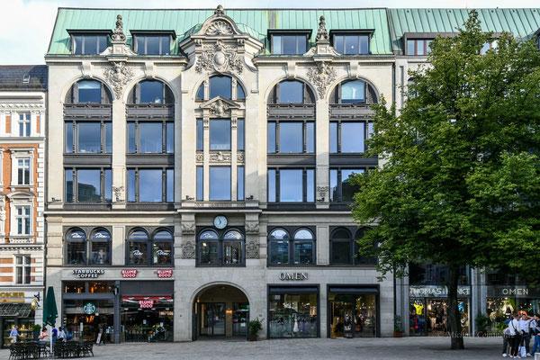 Hamburg; Gänsemarkt / Gerhofstraße
