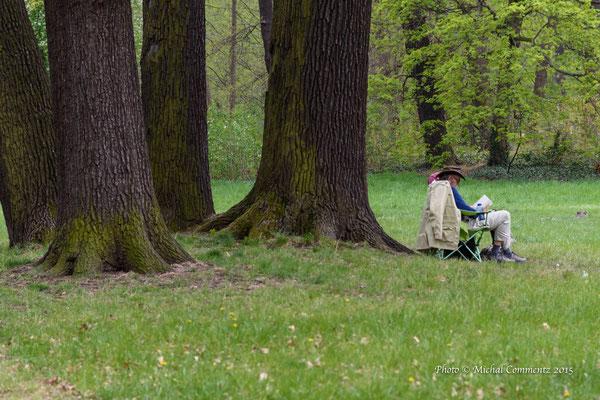 Im Park vom Charlottenburger Schloss, Berlin