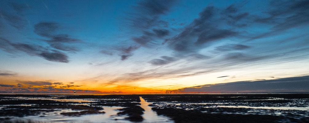 Sonnenuntergang in der Nähe von Malmö
