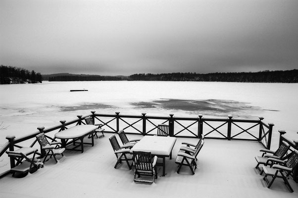 Winter am Helgasee, Småland