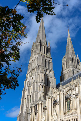 Bayeux, Cathedrale Parvis, Frankreich, Normandie