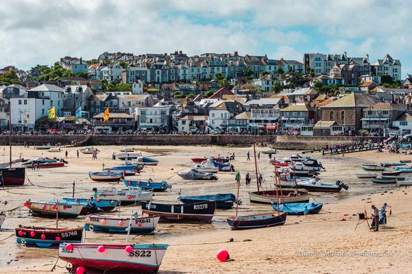 Hafen von St. Ives, Cornwall