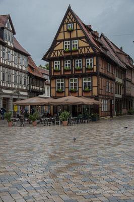 Marktplatz in Quedlinburg, Quedlinburg / Sachsen-Anhalt
