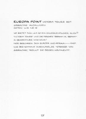 """Beschreibung """"EUROPA POINT"""""""