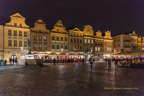 Der alte Markt in Poznan / Posen