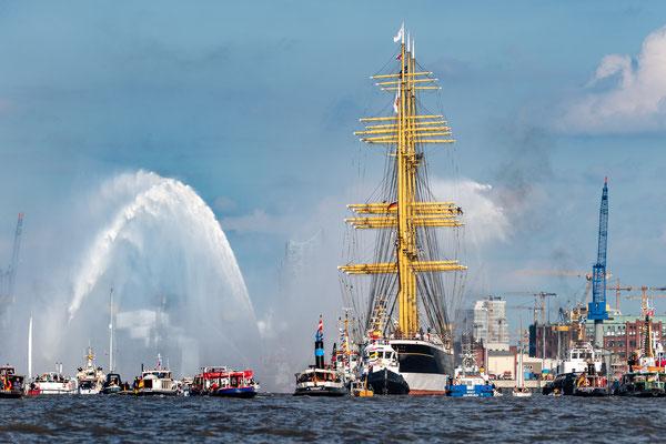 Am 07. Sept. 2020 kam die PEKING zurück nach Hamburg