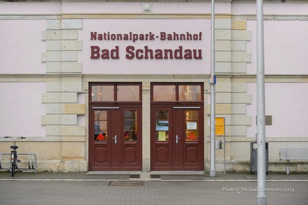 Bahnhof in Bad Schandau, Sachsen