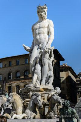 Fontana de Nettuno, Piazza della Signoria, Florenz
