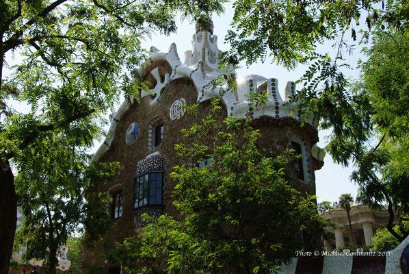 Eingang zum Parc Güell, Barcelona