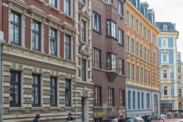 Häuserfassaden in Ottensen