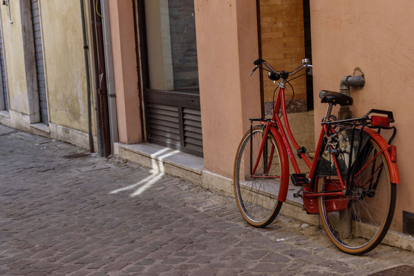 Hollandrad in Italien