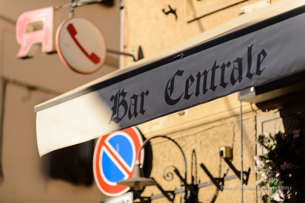 Bar Centrale, Castelnuovo Berandenga, Toskana