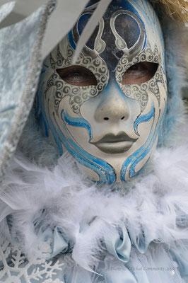 Masken in Hamburg