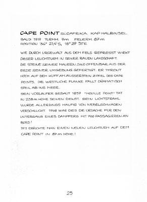 """Beschreibung """"CAPE POINT"""""""