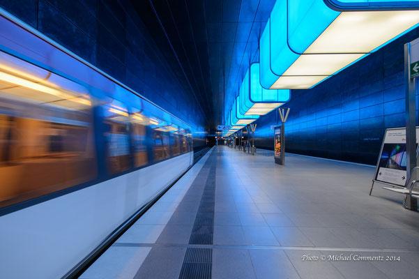 U-Bahn Station Universität Hafencity