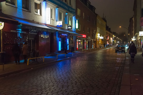 St. Pauli bei Nacht